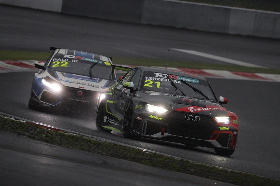 TCRJ第3戦での#21 Audi RS3 LMS