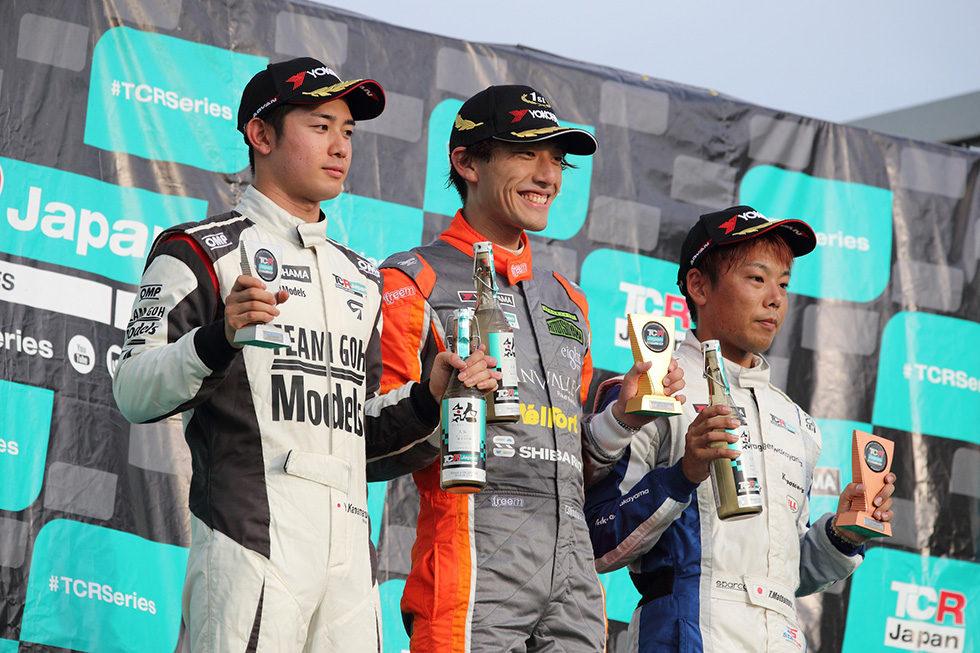 TCR Japan 第4戦 Saturday Series 表彰式