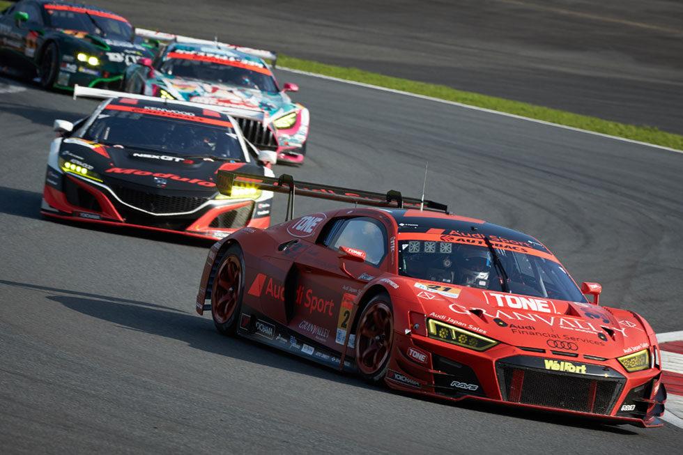 Audi R8 LMSの走行