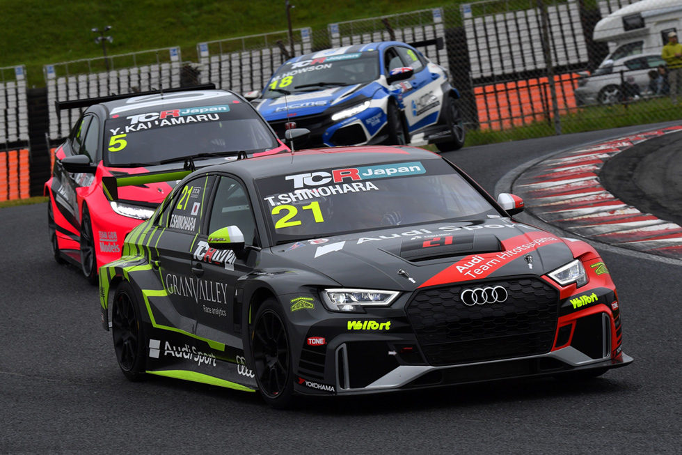 TCR Japan 2019 開幕戦の様子